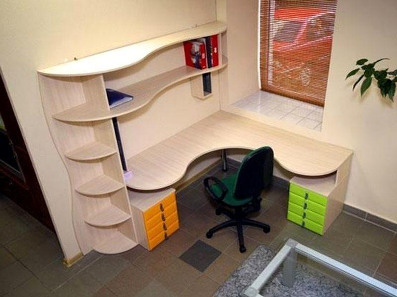 Купить письменный стол с полками и ящиками с надстройкой и ш.